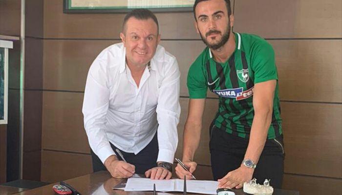 Yukatel Denizlispor, Oğuz Yılmaz'la 3 yıllık sözleşme imzaladı