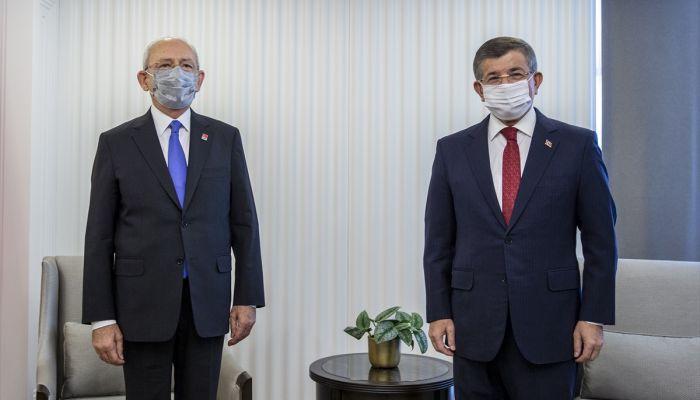 Kılıçdaroğlu'ndan Davutoğlu'na ziyaret (2)