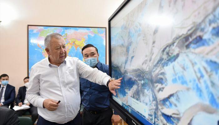 Kırgızistan'da kömür ocakları mevkisinde heyelan yaşandı