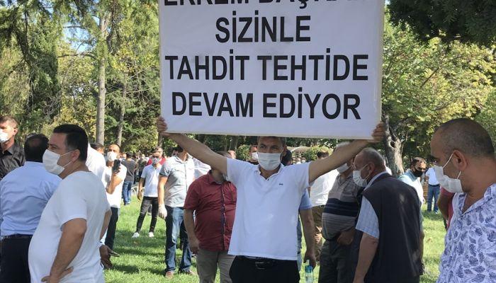 Servisçilerden yeni plaka teklifi protestosu