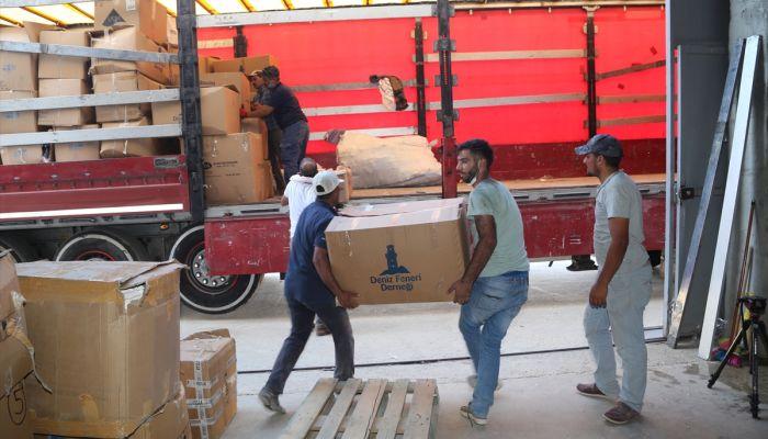Şanlıurfa'dan Suriye'ye insani yardım