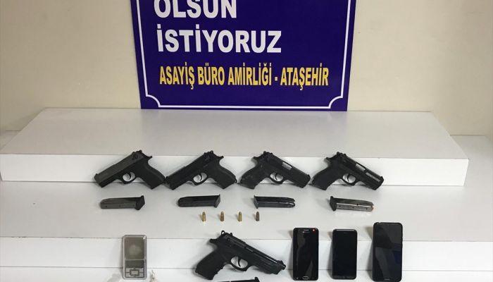 Ataşehir'de uyuşturucu operasyonunda 3 şüpheli yakalandı