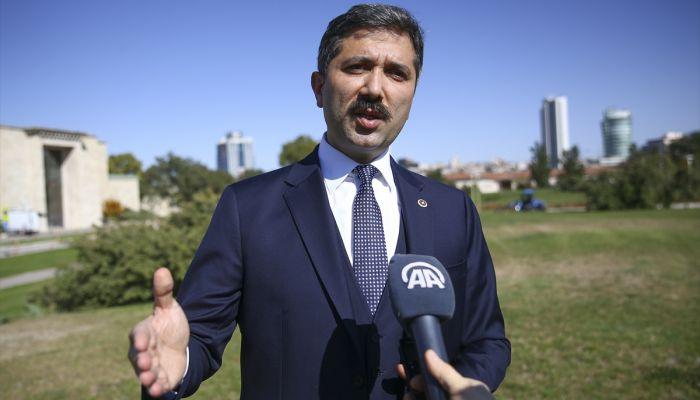 """AK Parti'li Sırakaya'dan """"otomatik finansal bilgi paylaşımı"""" açıklaması:"""