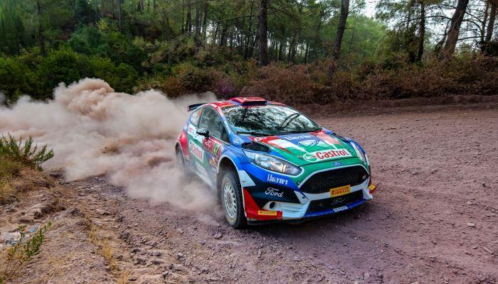 WRC Türkiye Rallisi'nde Castrol Ford Team Türkiye'nin yüzü güldü