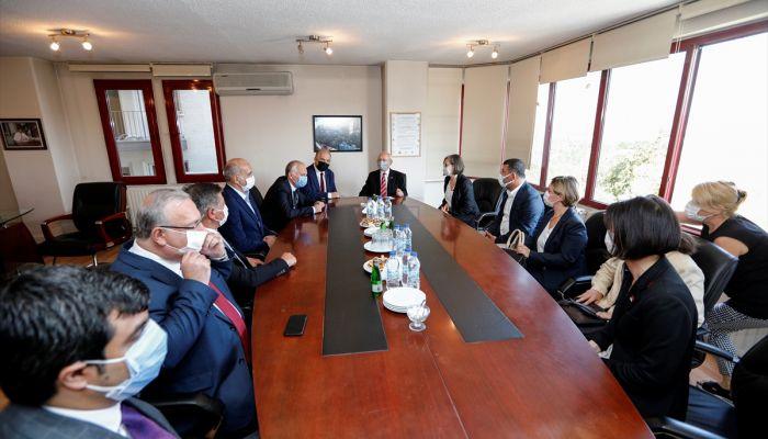 CHP Genel Başkanı Kılıçdaroğlu TTB'yi ziyaret etti: