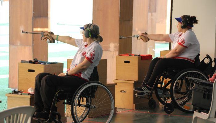 Paralimpik milli atıcılar, Ukrayna Milli Takımı ile ortak kampa girdi