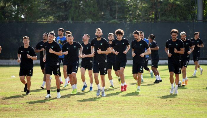 Denizlispor, Antalyaspor maçının hazırlıklarını sürdürdü