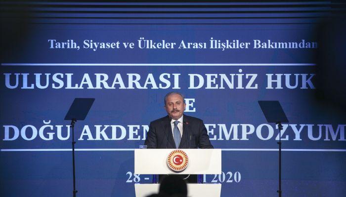 """Şentop: """"Türkiye her zaman maddi, manevi bütün gücüyle Azerbaycan'ın yanındadır. Bir an tereddüt göstermeden her zaman yanında olmaya devam edecektir"""""""
