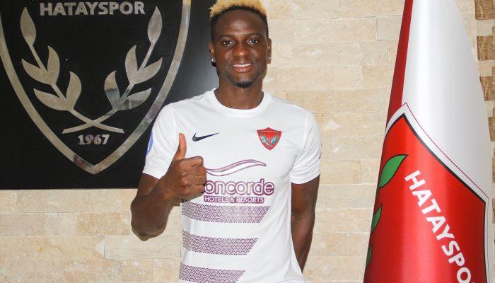 Atakaş Hatayspor, kanat oyuncusu Babajide David Akintola'yı kiraladı