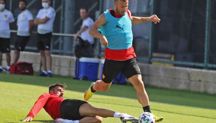 Göztepe, Medipol Başakşehir maçının hazırlıklarına devam etti