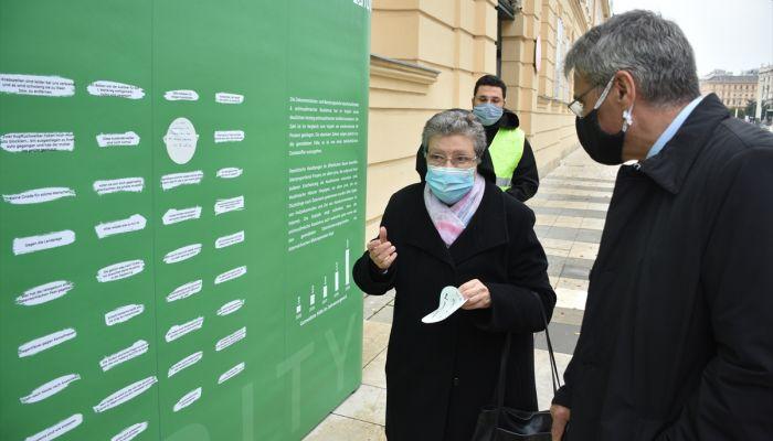 Avusturya'da artan ırkçılık ve nefret söylemi karşıtı etkinlik