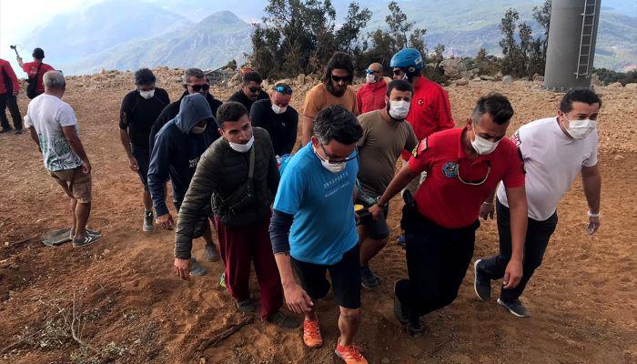 Muğla'da yamaç paraşütü kazası: 2 yaralı