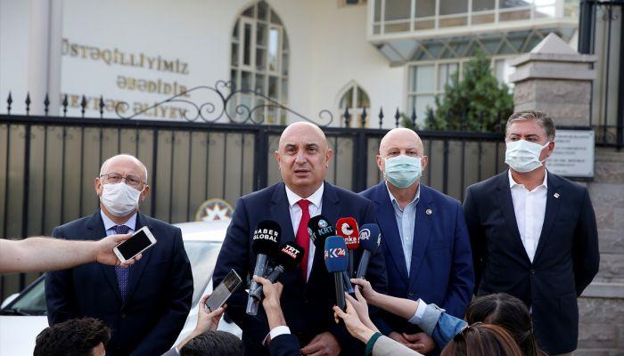 CHP'den Azerbaycan'ın Ankara Büyükelçisi İbrahim'e ziyaret