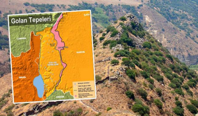 golan tepeleri nerededir | trum golan tepeleri imza attı mı | İsrail için tepelerin önemi ne | tepeler nerde