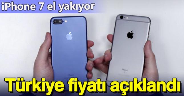 iPhone 7 ve 7 Plus'ın Türkiye fiyatı açıklandı