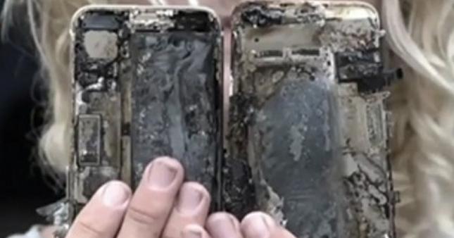 iPhone 7'lerde alev alev yanıyor
