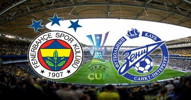 Fenerbahçe Zenit Ne Zaman: Fenerbahçe Zenit'i Yendi