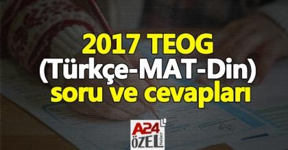 2017 TEOG sınavı zor muydu, kolay mı | 26 nisan TEOG sınav yorumları (Matematik, Türkçe)