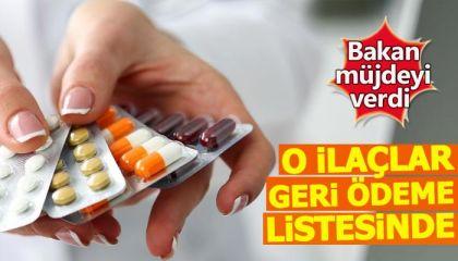 55 ilaç geri ödeme listesine alındı