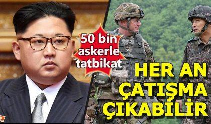 ABD ile Güney Kore'den 50 bin askerle tatbikat
