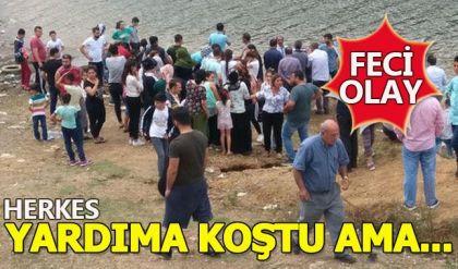 Alibeyköy Barajı'nda feci olay! 3 çocuk hayatını kaybetti