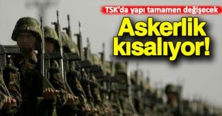 Askerlik kısalıyor! TSK'ya imam hatipler geliyor