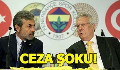 Aykut Kocaman ve Aziz Yıldırım'a ceza!