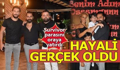 Çılgın Sedat Survivor'dan kazandığı parayla hayalini gerçekleştirdi