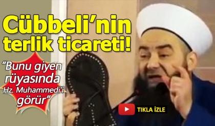 Cübbeli Ahmet Hoca'dan 'Hz. Muhammed terliği'