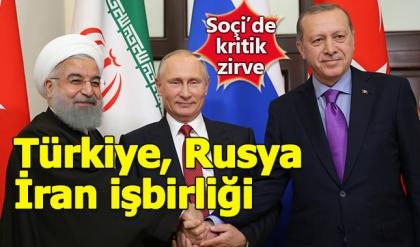 Cumhurbaşkanı Erdoğan: Soçi'de kritik kararlar alınacak