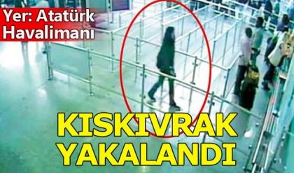 DHKP-C'li terörist Atatürk Havalimanı'nda yakalandı