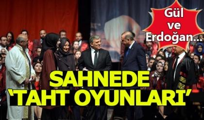 Erdoğan ve Gül sahnedeyken Taht Oyunları müziği çaldı