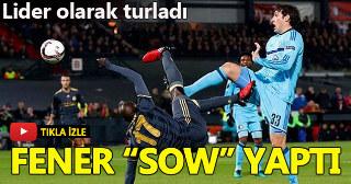 Feyenoord 0-1 Fenerbahçe l Maç Özeti l Mousa Sow röveşata