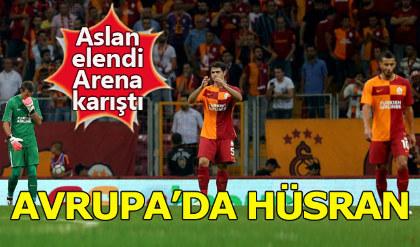 Galatasaray 1-1 Östersunds Maç Özeti / UEFA Avrupa Ligi 2. Ön Eleme Turu rövanş maçı