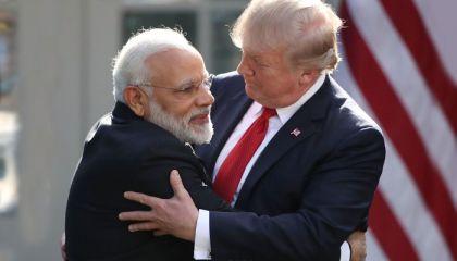 Hindistan Başbakanı Modi, Trump'a hayran