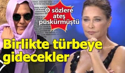 Hülya Avşar'ı türbeye götürecek