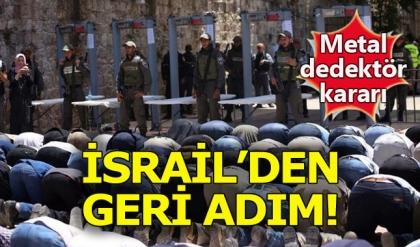 İsrail Mescid-i Aksa'da metal dedektörü kaldıracak