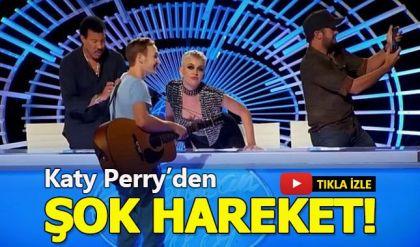 Katy Perry'nin yarışmacıyı şoka sokan hareketi