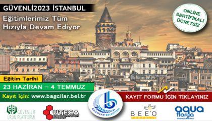 Kısıtlamalar kalktı Güvenli2023 İstanbul hız kazandı!