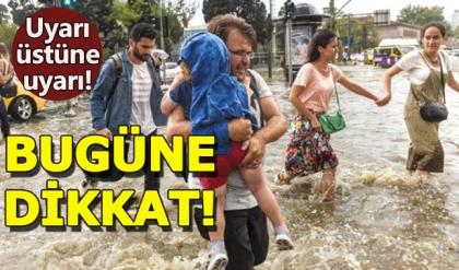 Meteoroloji şiddetli yağış için uyardı ! 28 Temmuz cuma İstanbul hava durumu