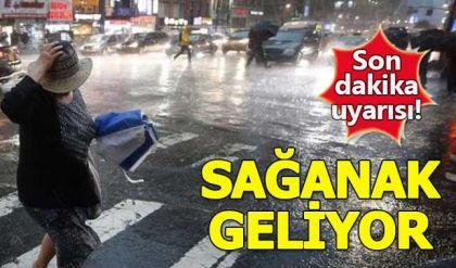 Meteorolojiden Ankara için sağanak yağmur uyarısı