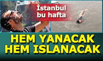 Meteoroloji'den İstanbullular'a sağanak uyarısı