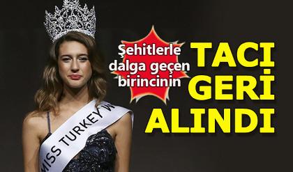 Miss Turkey Itır Esen'in 15 Temmuz tweetleri 'tacını' yaktı!