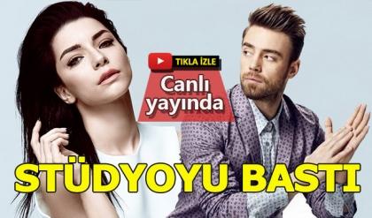 Murat Dalkılıç, eşi Merve Boluğur'un katıldığı programı bastı