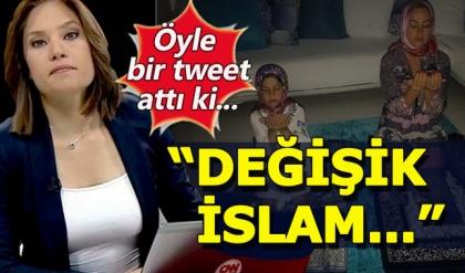 Nevşin Mengü'nün 'Namaz' tweeti sosyal medyayı salladı