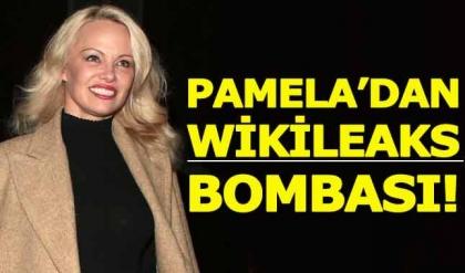 """Pamela Anderson'un """"WikiLeaks aşkı"""" kabardı"""