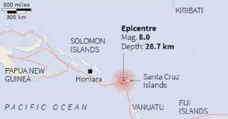 Pasifik'te deprem! Tsunami alarmı verildi