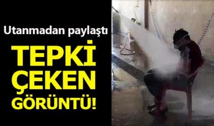Oto yıkamacıdan işçisine 'tazyikli' ceza! Sivas Kent Haberleri