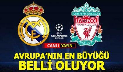 Real Madrid-Liverpool TRT1 Tivibuspor canlı yayın Şampiyonlar Ligi finali şifresiz