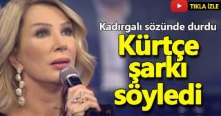 Seda Sayan Dediğini Yaptı! TRT Kurdi'ye Çıkıp Kürtçe Şarkı Söyledi